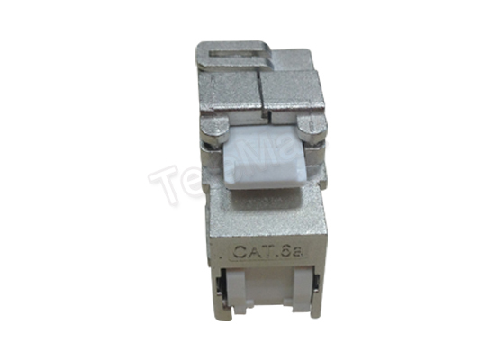 Cat.6a FTP 180 Degree Keystone Jack Tooless