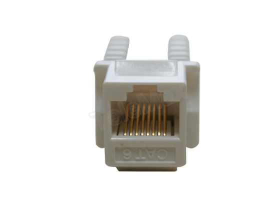 Cat.6 UTP 90 Degree Keystone Jack