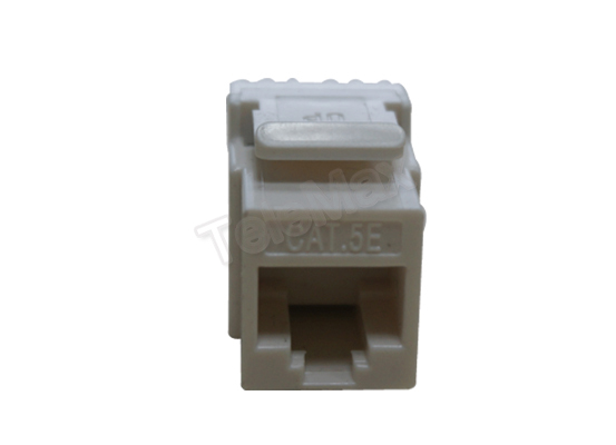 Cat.5e UTP 180 Degree Keystone Jack