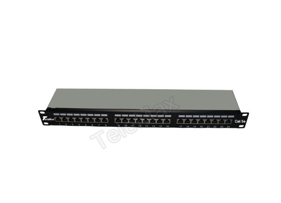 Cat.5e 1U 24 Port FTP Patch Panel