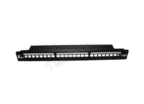 1U 24 Port UTP Blank Patch Panel