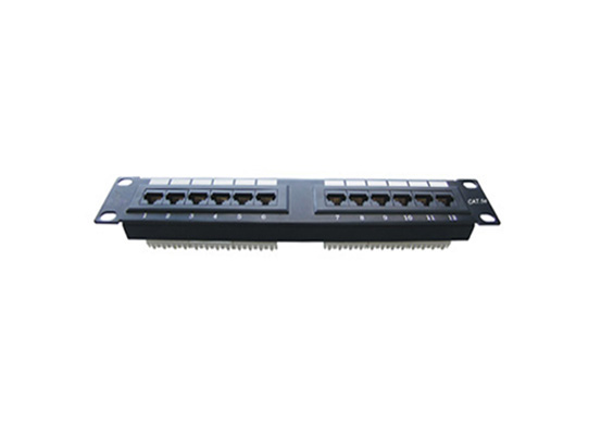 12 Port Mini patch panel